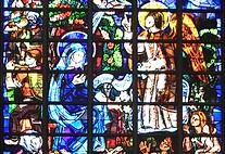 Vitraux de la Basilique, Notre Dame de la Trinité