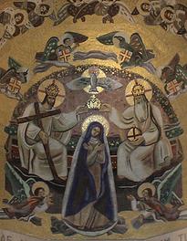 Mosaïque de la Nef, Basilique Notre Dame de la Trinité