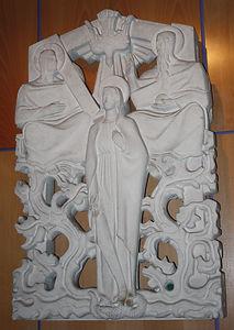 Sculpture Crypte Notre Dame de la Trinité