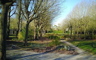 Parc Notre dame de la trinité, basilique, Blois