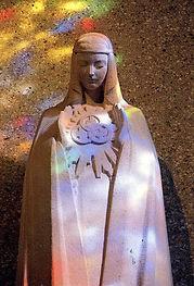 Statue Notre Dame de la Trinité