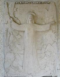 Bas relief Basilique