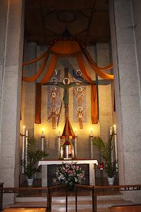 Tabernacle Notre Dame de la Trinité, basilique, blois
