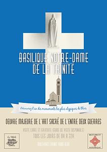 Visitez la Basilique, affiche