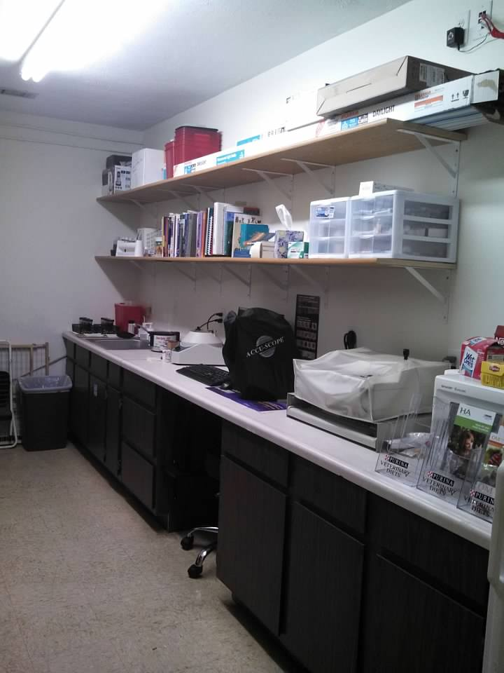 Lab cleaned up