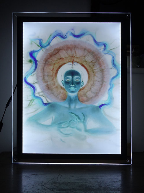 IInquiry - Illuminated print in Led Lightbox Frame