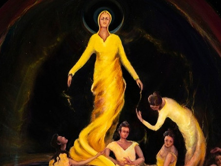Remergence - a painting of Initiation