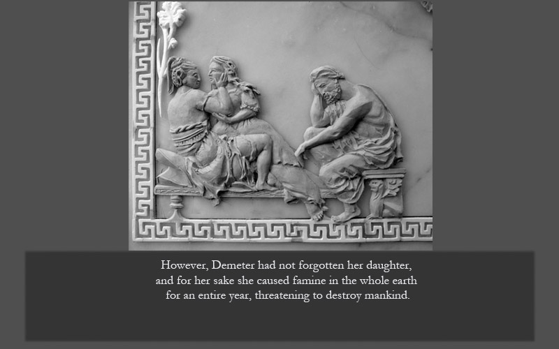 Demeter & Persephone with Hades
