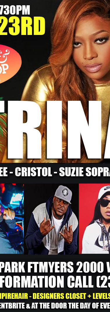 Trina performing live - Fort Myers , Flo