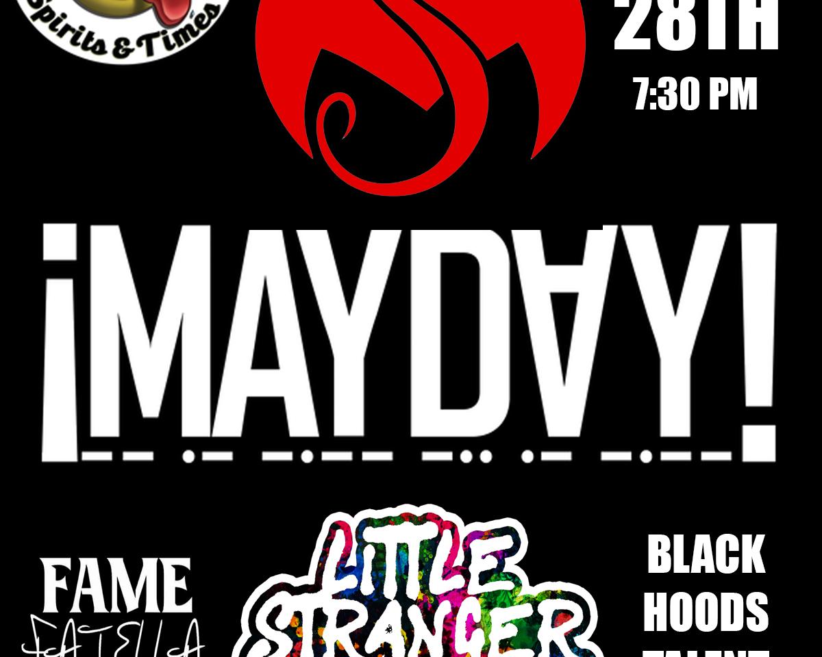 Mayday! - Strang Music Flyer