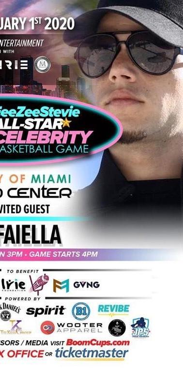 Fame Faiella at the University Of Miami.