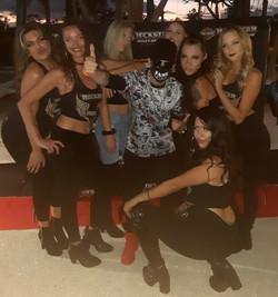 Fame Faiella x Rockstar Harley Davidson