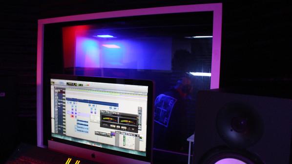 Fame Faiella in the Studio