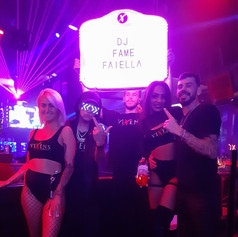 Fame Faiella x Vixens Cabaret Fort Lauderdale 6th Year Anniversary Party