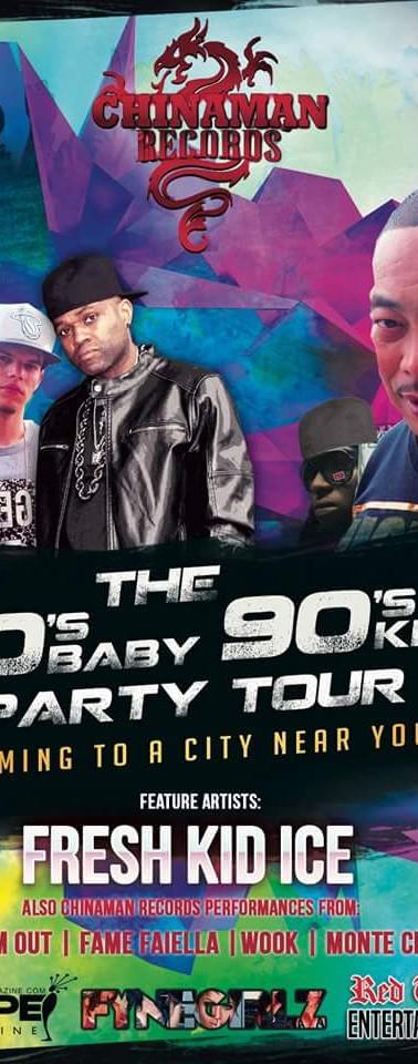 I Love the 80s 90s Tour - Fresh Kid Ice 2016