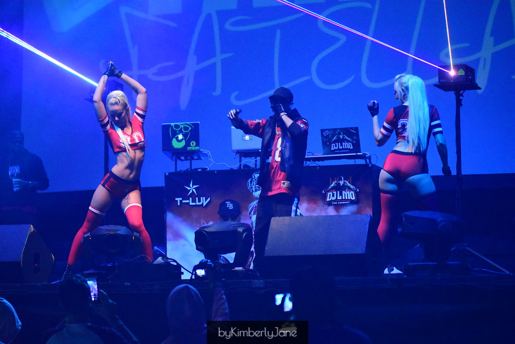 Fame Faiella Performing Live Super-bowl