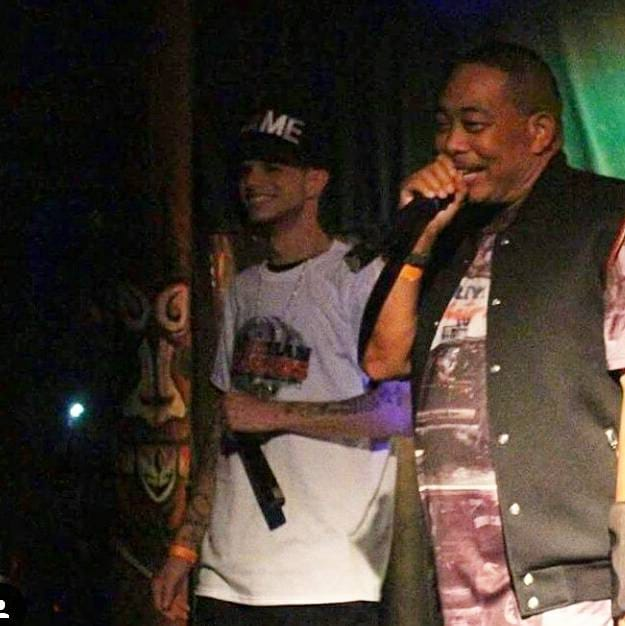 Fame Faiella with Mentor Fresh Kid Ice