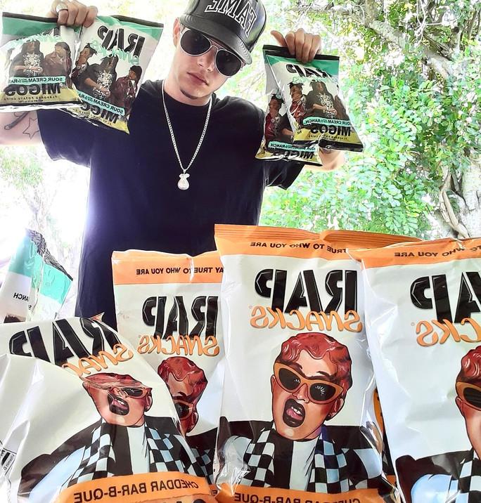 Fame Faiella x Rap Snacks