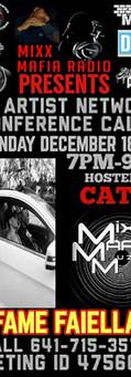 Mixx Mafia Radio Conference Call