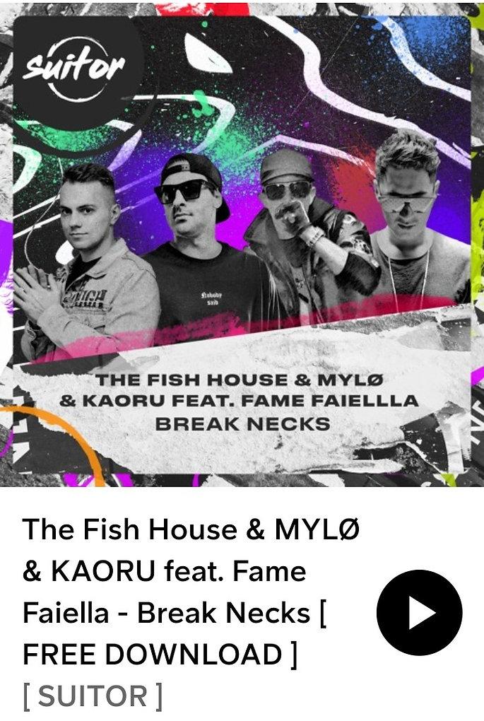 Fame Faiella - The Fish House x DJ Kaoru