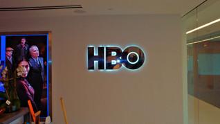 HBO INTERIOR CHROM SIGN