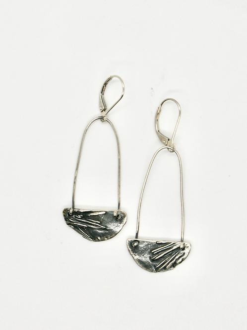 Sitka Halfmoon Drop Earrings