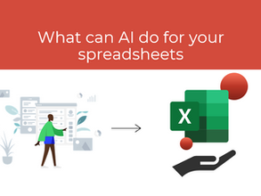 What can AI do for your spreadsheets?