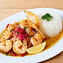 LIMÓN AJO CAMARONES/Limon Garlic Shrimp