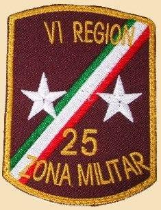 25 zona militar