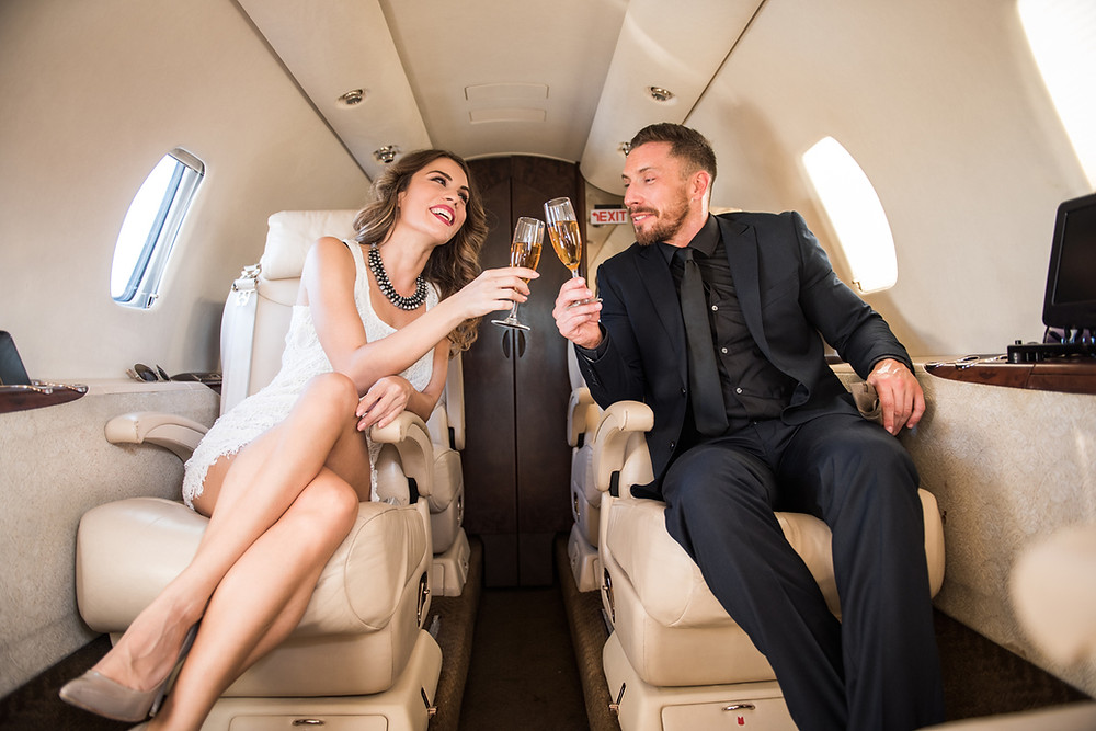 Private Jet for Anniversaries