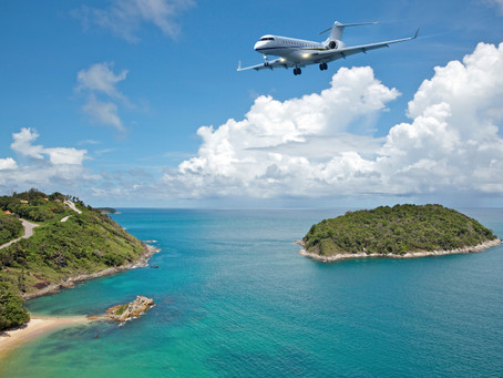 Enjoy Sun at the 5 Best Summer Vacation Spots by Private Jet