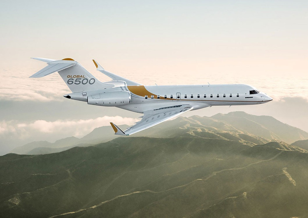 Private jet: Global 6500