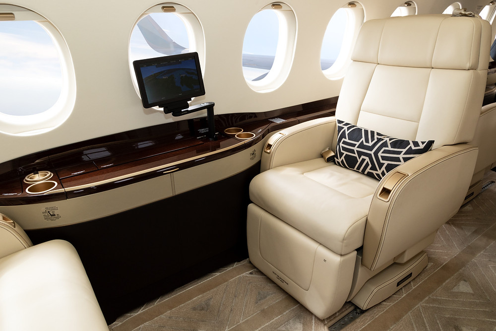 The Superior Comfort of a Private Jet