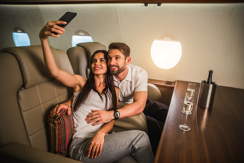 Uptick in Leisure Travel by private jet charter