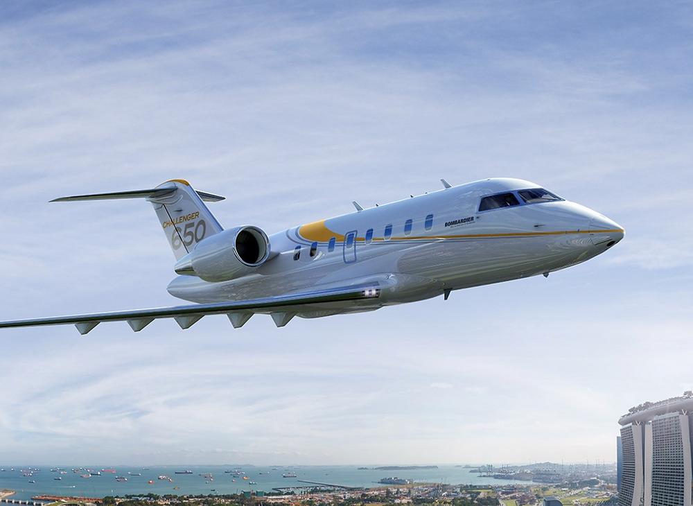 Heavy Jet: Challenger 650