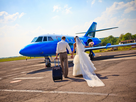 Private Jet Charter For Proposal, Wedding & Honeymoon