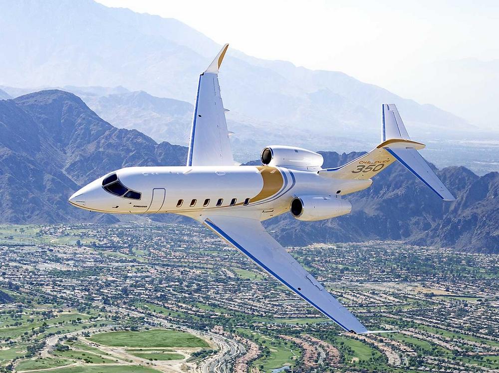 Super Mid-size Jet: Challenger 350