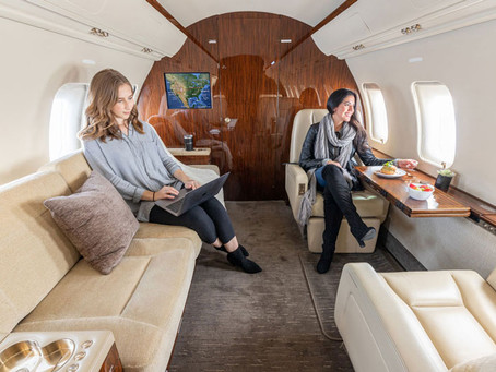 In-flight Wellness Features Available on Private Jet Charter