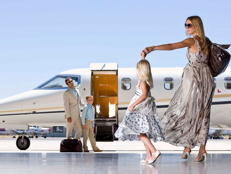 7 Reasons to Choose a Private Jet Charter for Family Trip