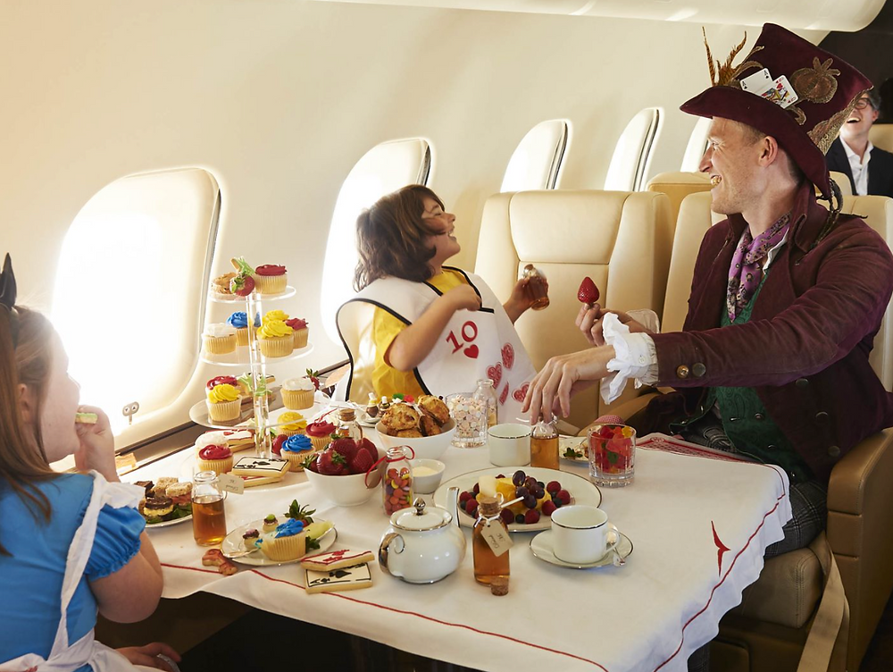 Birthday Parties on Private Jet