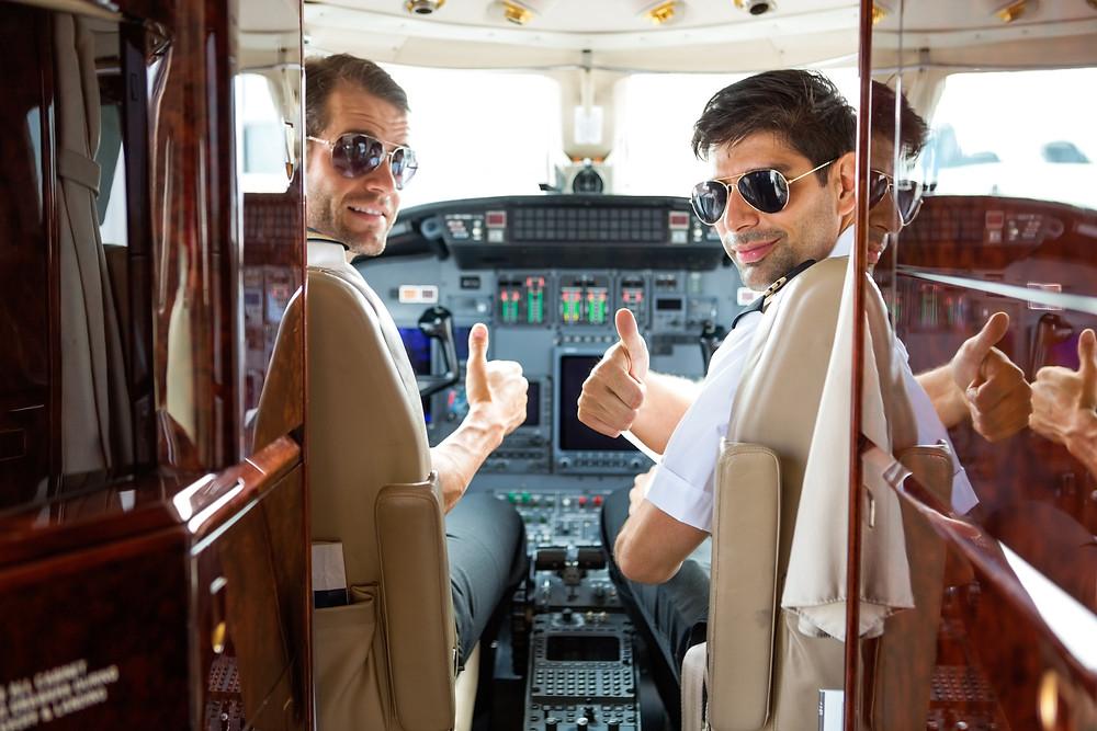 Flight Crew Familiarity of Private Jet Charter