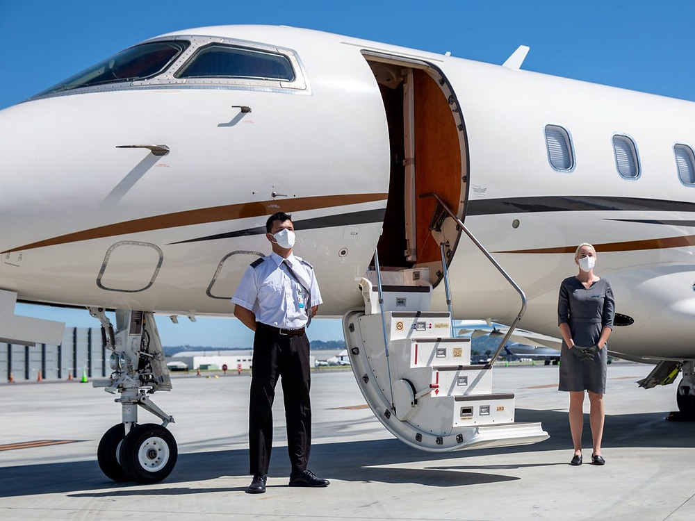 private jet charter health standards