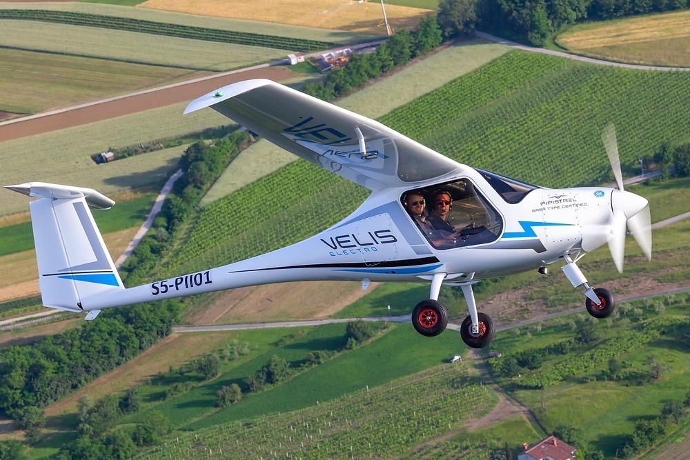 Pipistrels Velis Electro Electric Airplane