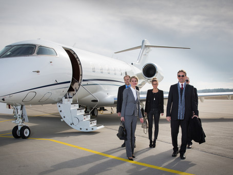 What Types of Companies Use Private Jet Charter?