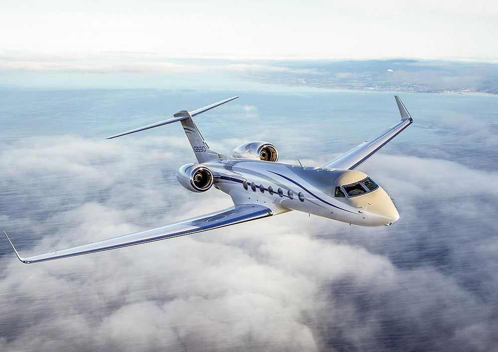 Ultra Long Range: Gulfstream G550