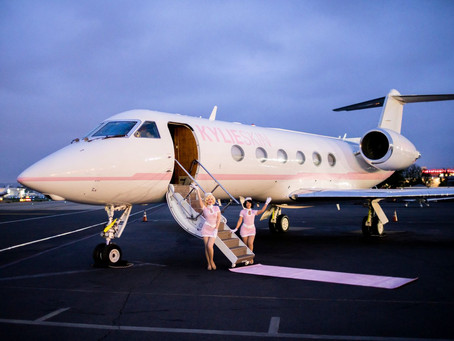 10 Celebrities Who Fly On Their Own Private Jets
