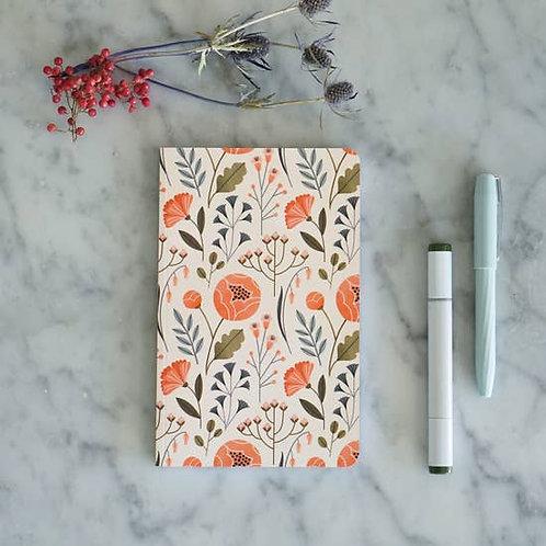 Flowers Layflat Journal
