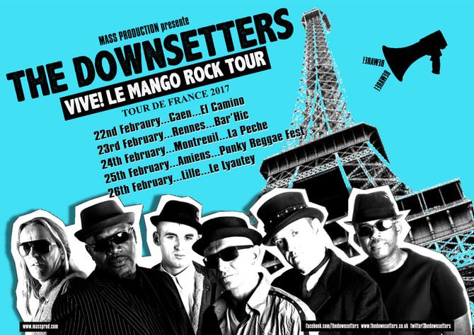VIVE! LE MANGO ROCK TOUR DE FRANCE