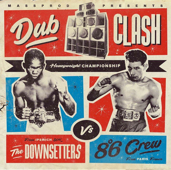 THE DOWNSETTERS  meet 86 CREW in a DUB CLASH.. NEW ALBUM OUT NOW!