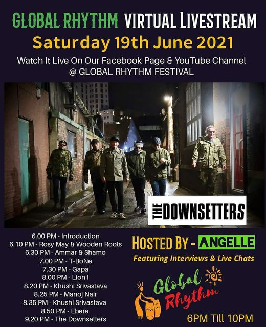 Global Rhythm Festival Live Stream